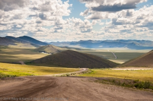 The Dempster Hwy to Inuvik, Northwest Territories